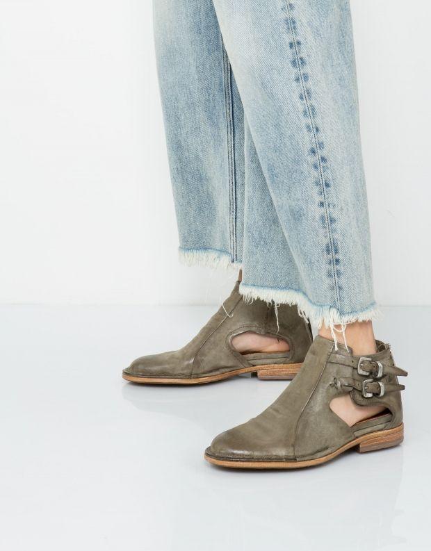 נעלי נשים - A.S. 98 - מגפון BLAZER - חאקי