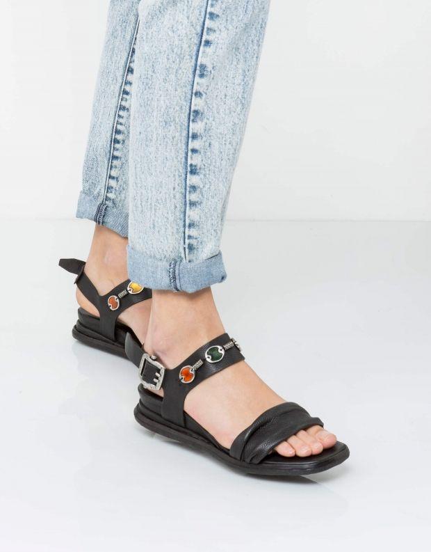 נעלי נשים - A.S. 98 - סנדל SFERE שרשרת - שחור