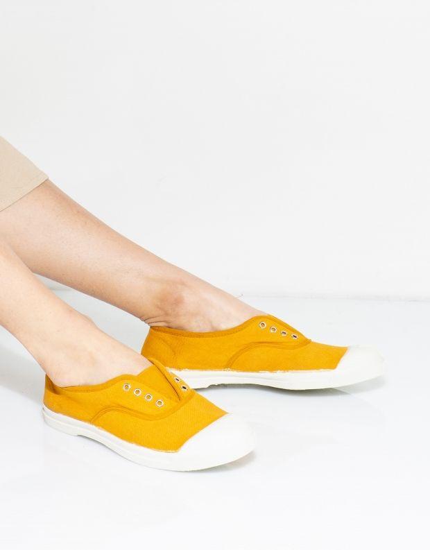 נעלי נשים - Bensimon - סניקרס טניס ELLY - חרדל