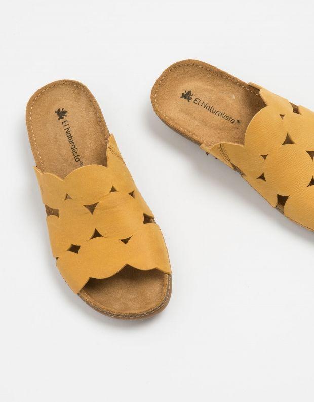 נעלי נשים - El Naturalista - קבקב TORCAL - צהוב