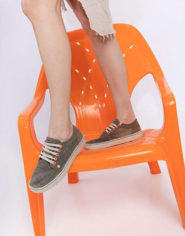 נעלי נשים - Satorisan - סניקרס HEISEI TEXTIL - חום