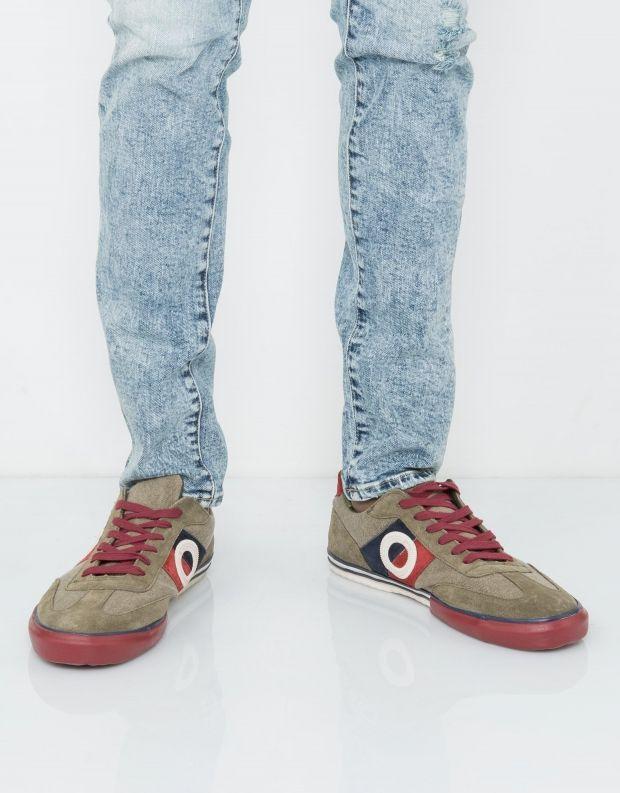 נעלי גברים - Aro - סניקרס POL - חאקי