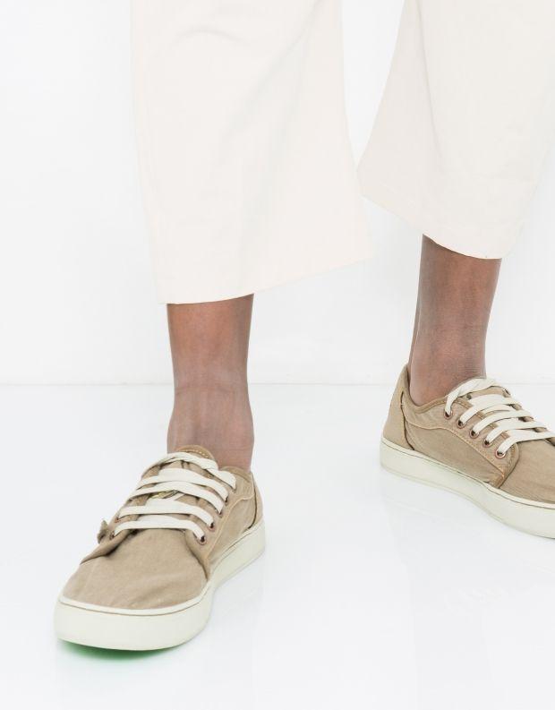 נעלי גברים - Satorisan - סניקרס HEISEI TEXTIL - אבן