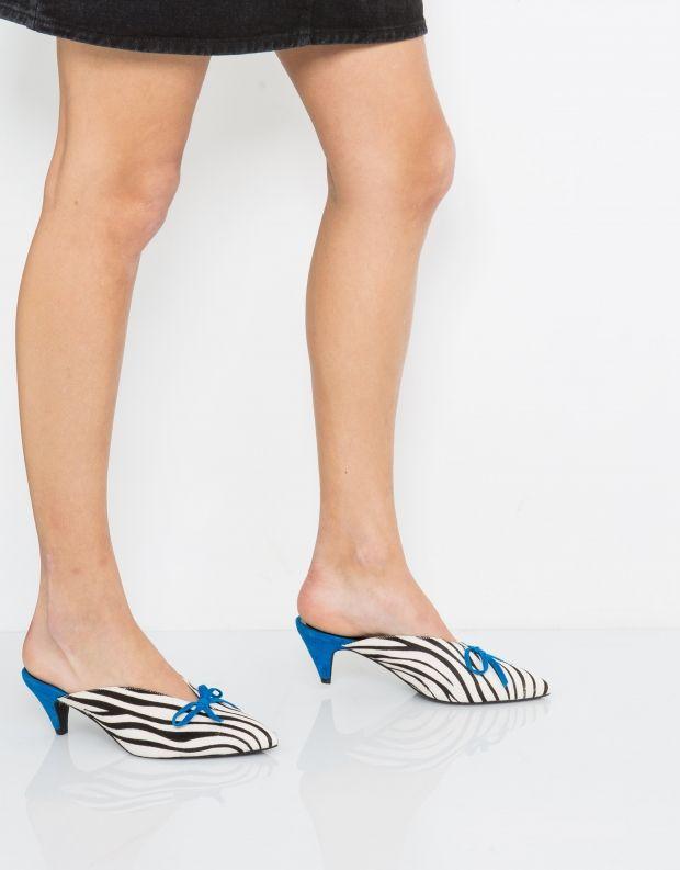 נעלי נשים - Jeffrey Campbell - קבקב ROMANCE ANYMAL - זברה