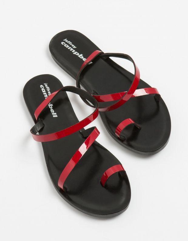 נעלי נשים - Jeffrey Campbell - סנדל SANTEN - אדום