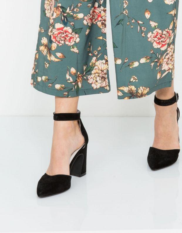 נעלי נשים - Jeffrey Campbell - סירה SPADES - שחור