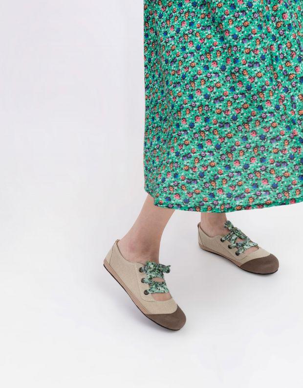 נעלי נשים - Komodo - נעל BALI שרוך צבעוני - ניוד