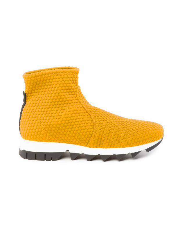 נעלי נשים - NR Rapisardi - מגפון BERLINO מיוחד - צהוב