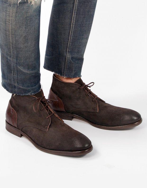 נעלי גברים - Hudson - נעל RYECROFT זמש - חום