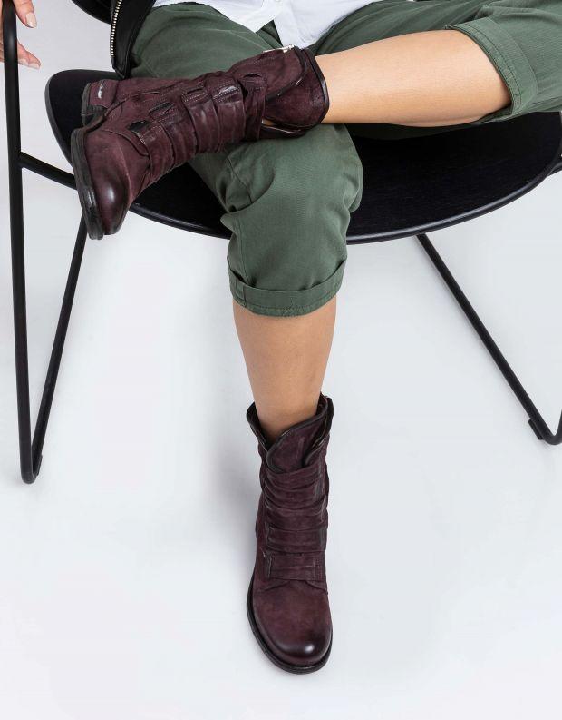 נעלי נשים - A.S. 98 - מגף TEAL רצועות - חציל