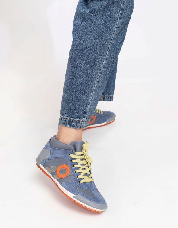 נעלי נשים - Aro - סניקרס גבוהות IDO - תכלת