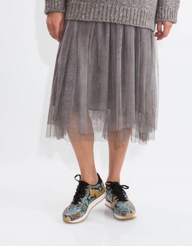 נעלי נשים - Woden - סניקרס YDUN SNAKE - טורקיז