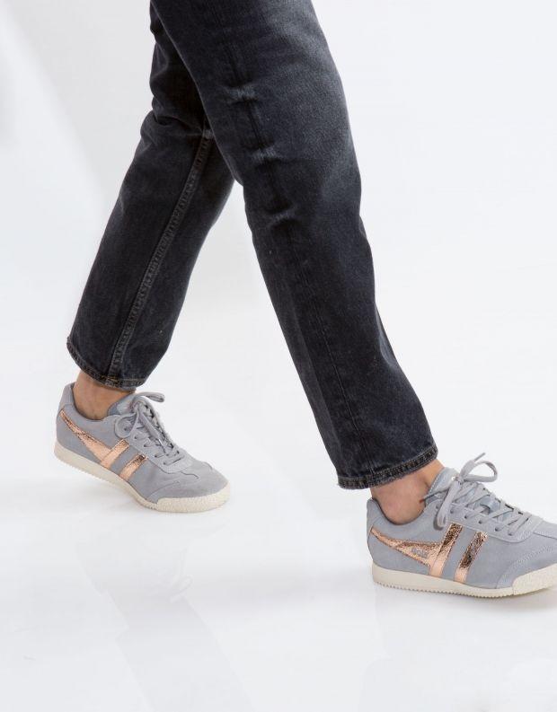 נעלי נשים - Gola - סניקרס HARRIER MIRROR - אפור