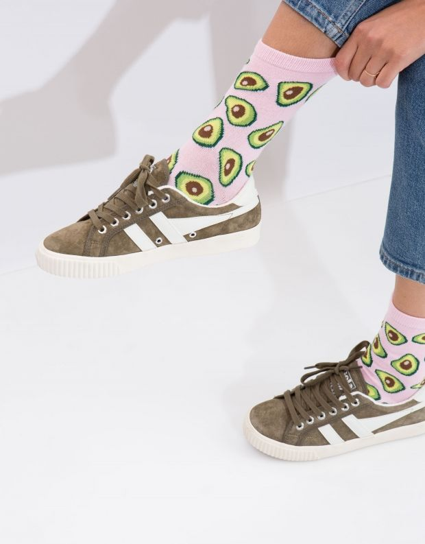 נעלי נשים - Gola - סניקרס TENNIS MARK COX SD - חאקי