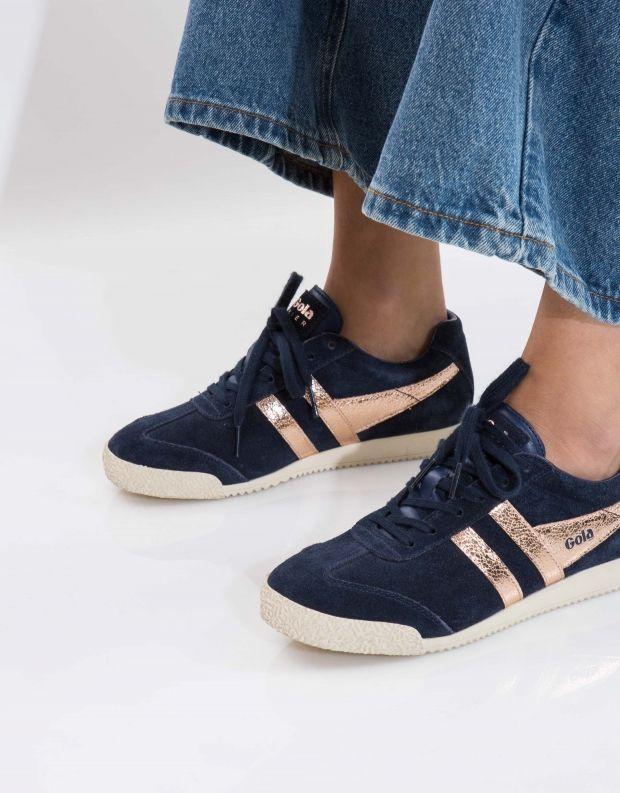 נעלי נשים - Gola - סניקרס HARRIER MIRROR - כחול