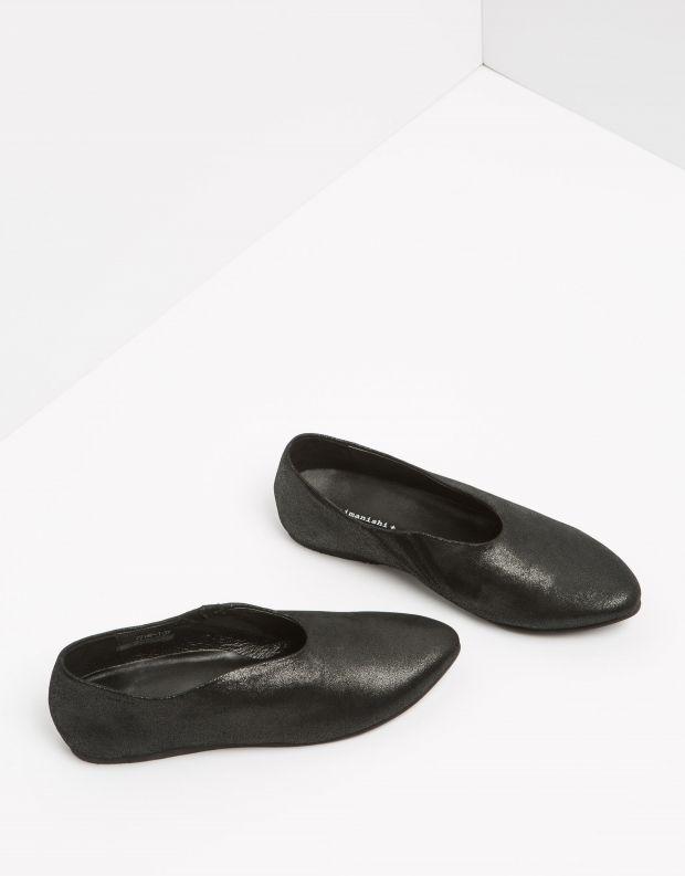 נעלי נשים - Yuko Imanishi - נעל ASUZA מבריקה - שחור מבריק