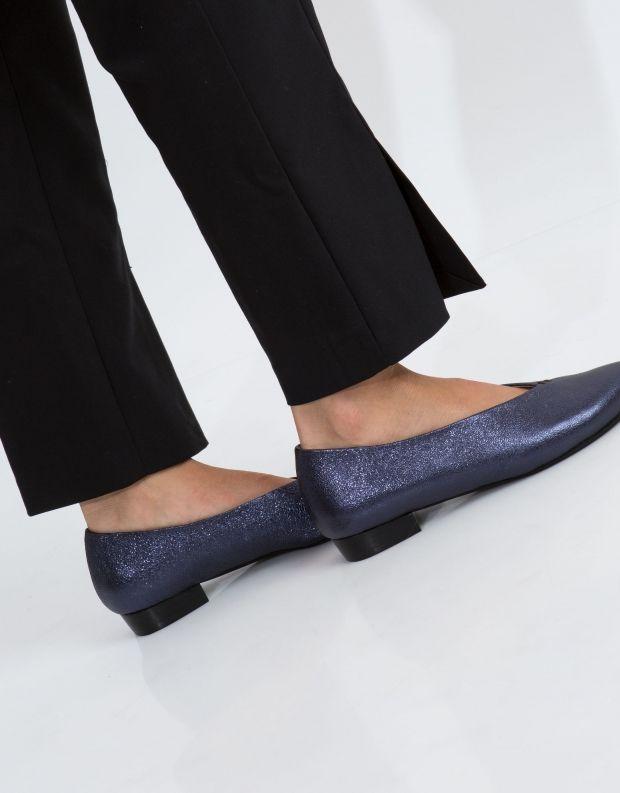 נעלי נשים - Yuko Imanishi - סירה KEITA - כחול מבריק