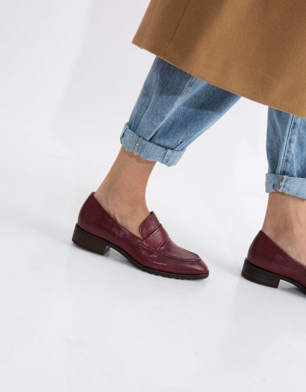 נעלי נשים - Yuko Imanishi - נעל YAMATO - בורדו