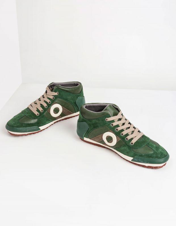 נעלי גברים - Aro - סניקרס גבוהות IDO - ירוק