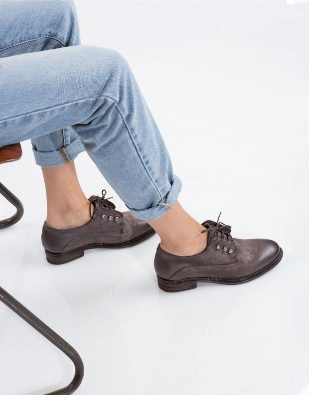 נעלי נשים - A.S. 98 - נעל LENA זמש - אפור