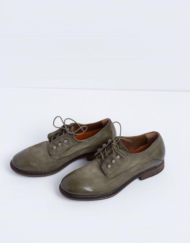 נעלי נשים - A.S. 98 - נעל LENA זמש - ירוק