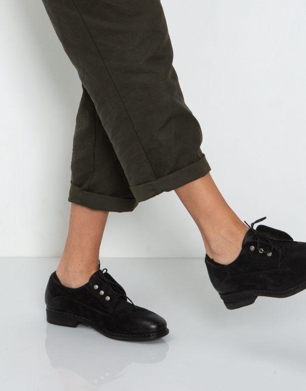נעלי נשים - A.S. 98 - נעל LENA זמש - שחור