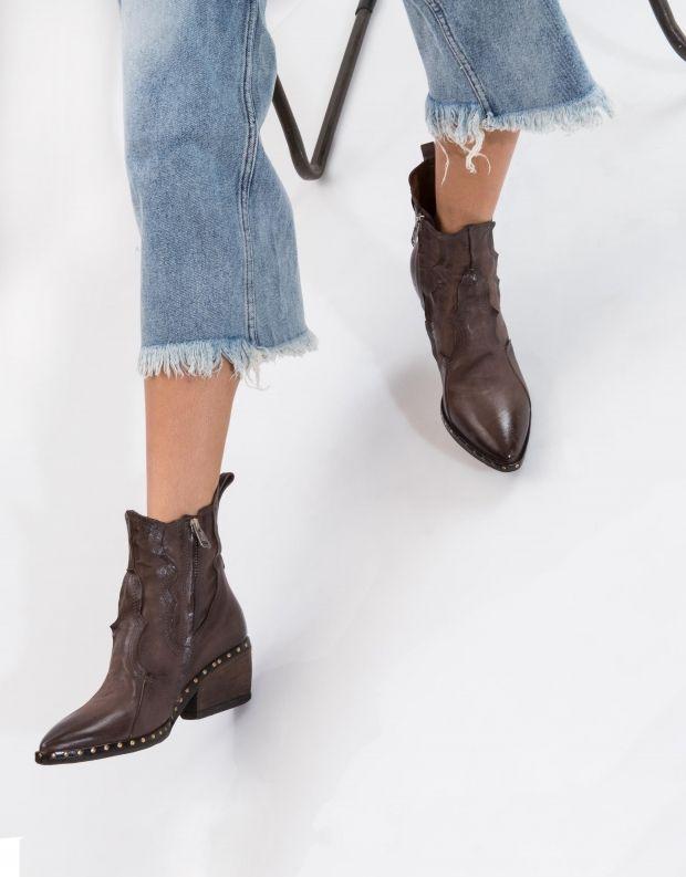 נעלי נשים - A.S. 98 - מגפון SATUR גומיות - חום כהה