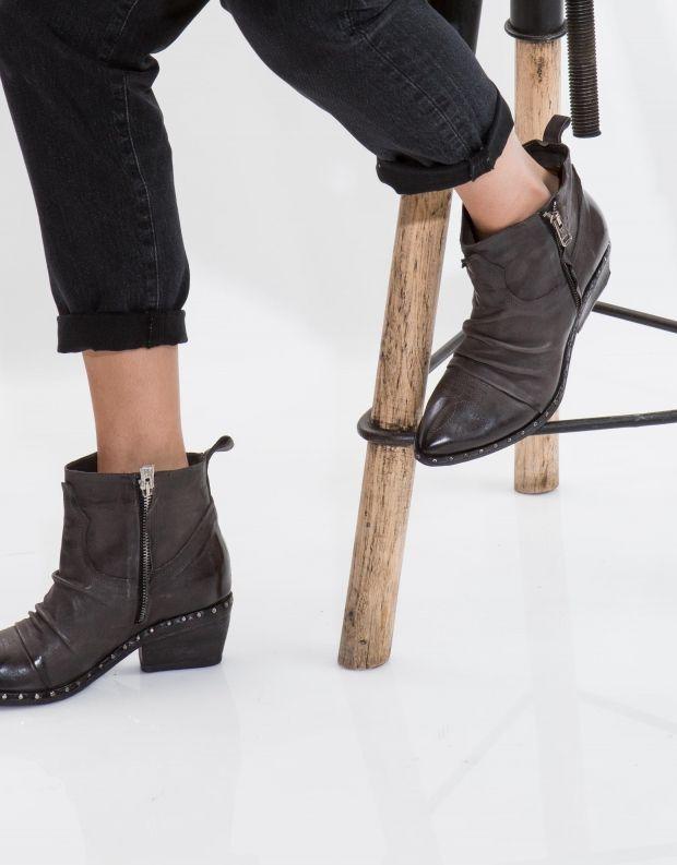נעלי נשים - A.S. 98 - מגפון SATUR כיווצים - אפור