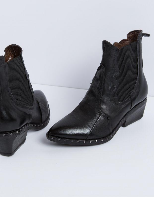 נעלי נשים - A.S. 98 - מגפון SATUR גומיות - שחור