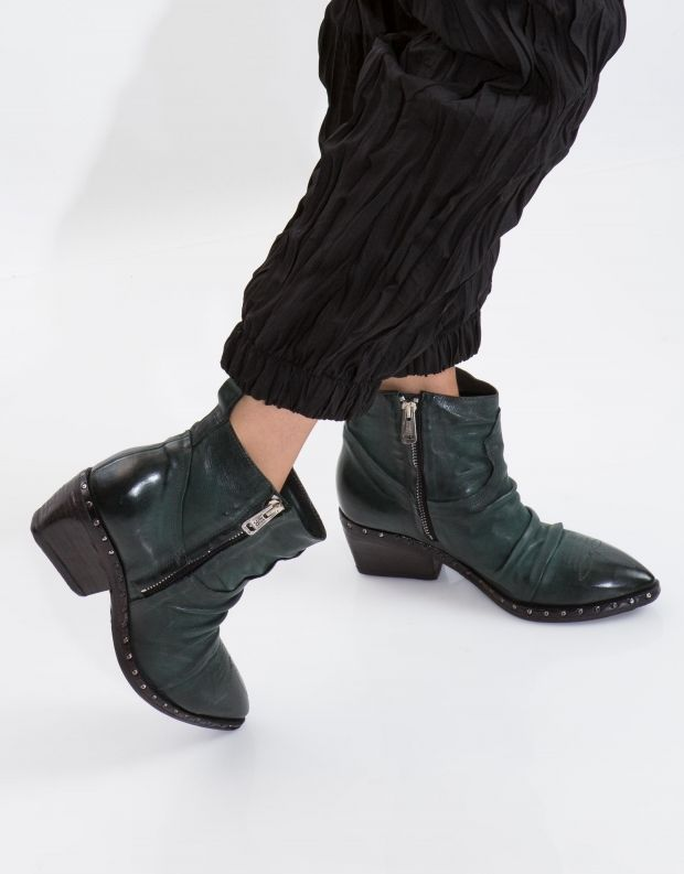 נעלי נשים - A.S. 98 - מגפון SATUR כיווצים - ירוק