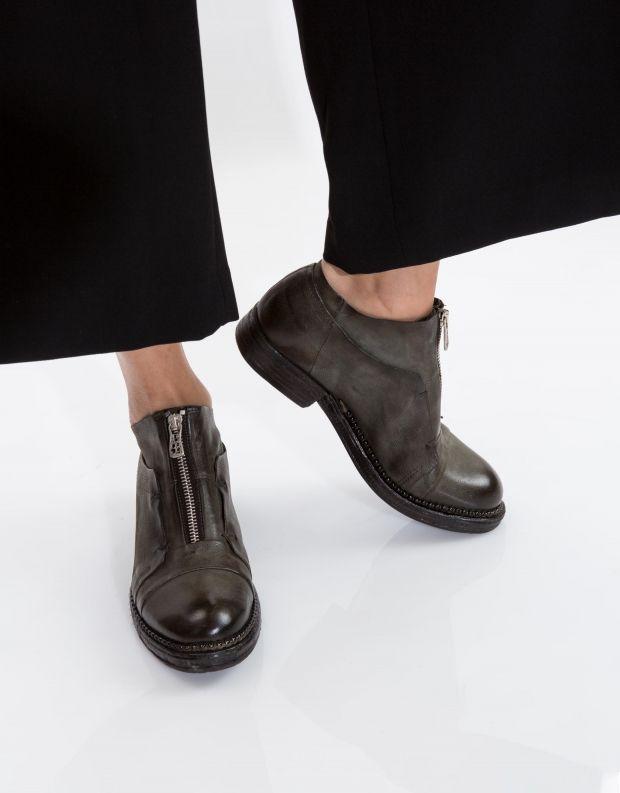 נעלי נשים - A.S. 98 - נעל VERTI רוכסן - ירוק