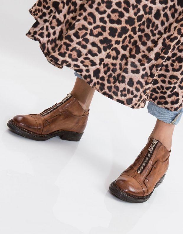 נעלי נשים - A.S. 98 - נעל VERTI רוכסן - חום