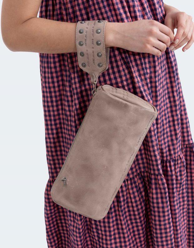 נעלי נשים - A.S. 98 - תיק קלאטצ' גדול - אפור