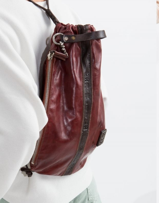 נעלי נשים - A.S. 98 - תיק גב שק קטן - בורדו