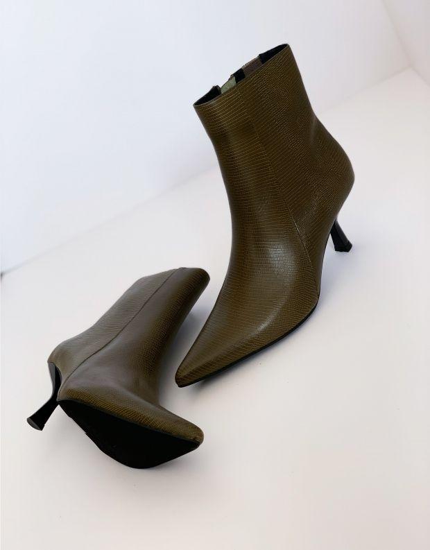 נעלי נשים - Jeffrey Campbell - מגפוני עקב EGNYTE - חאקי