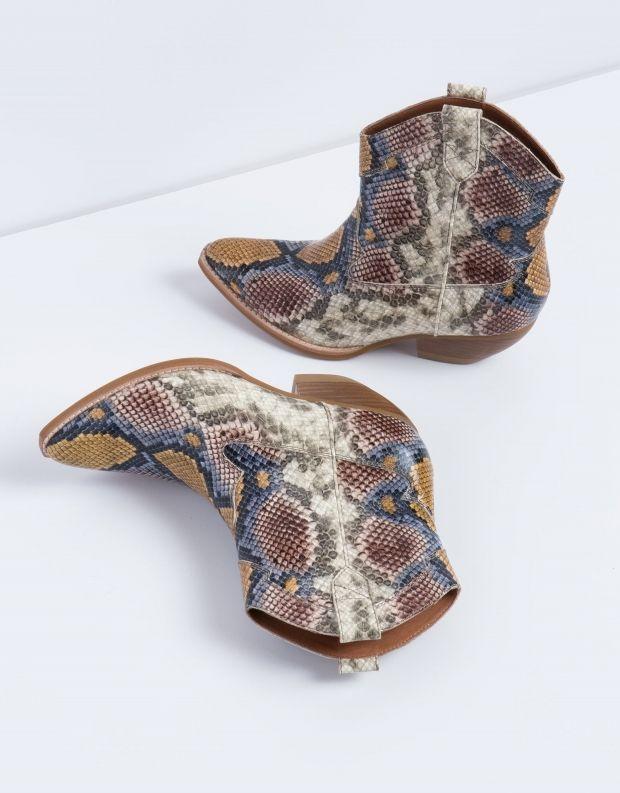 נעלי נשים - Jeffrey Campbell - מגפון CALVERA - צבעוני