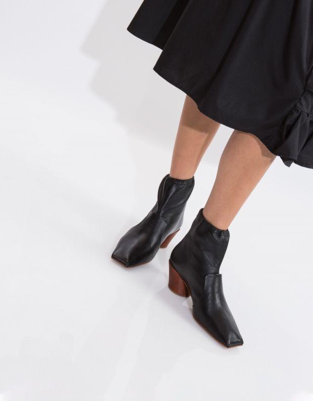 נעלי נשים - Jeffrey Campbell - מגפון CRYPT - שחור