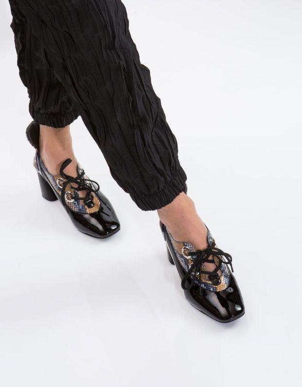 נעלי נשים - Jeffrey Campbell - נעל ELTON - נחש צבעוני