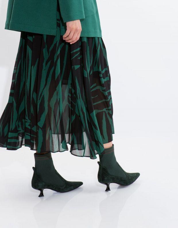 נעלי נשים - Jeffrey Campbell - מגפון MORBID - ירוק