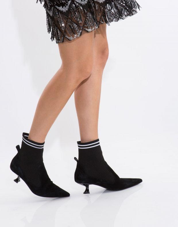 נעלי נשים - Jeffrey Campbell - מגפון MORBID - שחור