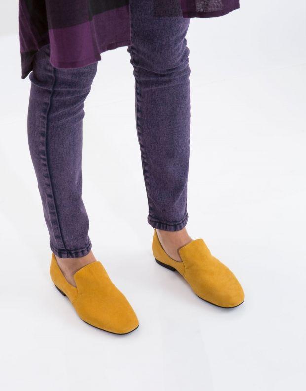 נעלי נשים - Jeffrey Campbell - נעל PRISTLY זמש - חרדל