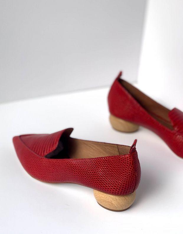 נעלי נשים - Jeffrey Campbell - נעל VIONA - אדום