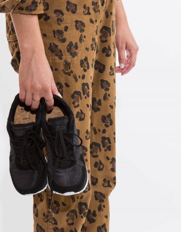 נעלי נשים - Woden - סניקרס NORA - שחור