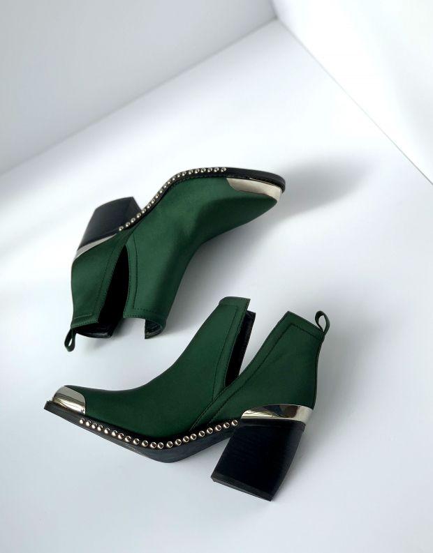נעלי נשים - Jeffrey Campbell - מגפון OPTIMUM - ירוק