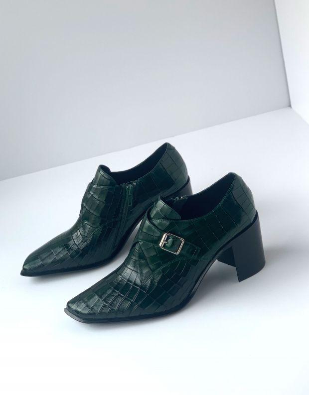נעלי נשים - Jeffrey Campbell - נעלי ARNAU CROCO - ירוק