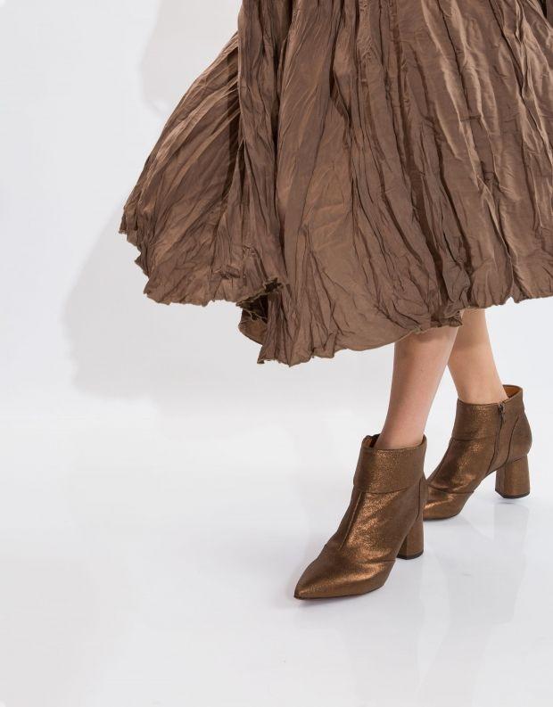 נעלי נשים - Chie Mihara - מגפון LULA - ברונזה
