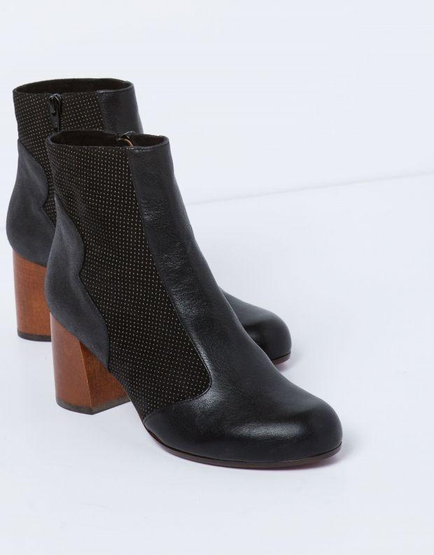 נעלי נשים - Chie Mihara - מגפון MILO - שחור