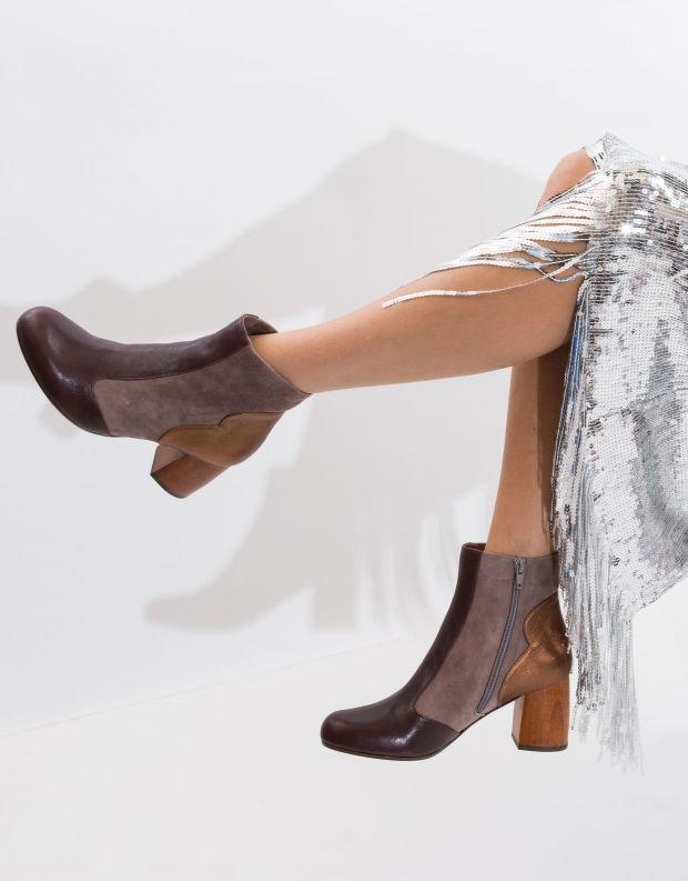 נעלי נשים - Chie Mihara - מגפון MILO - חום