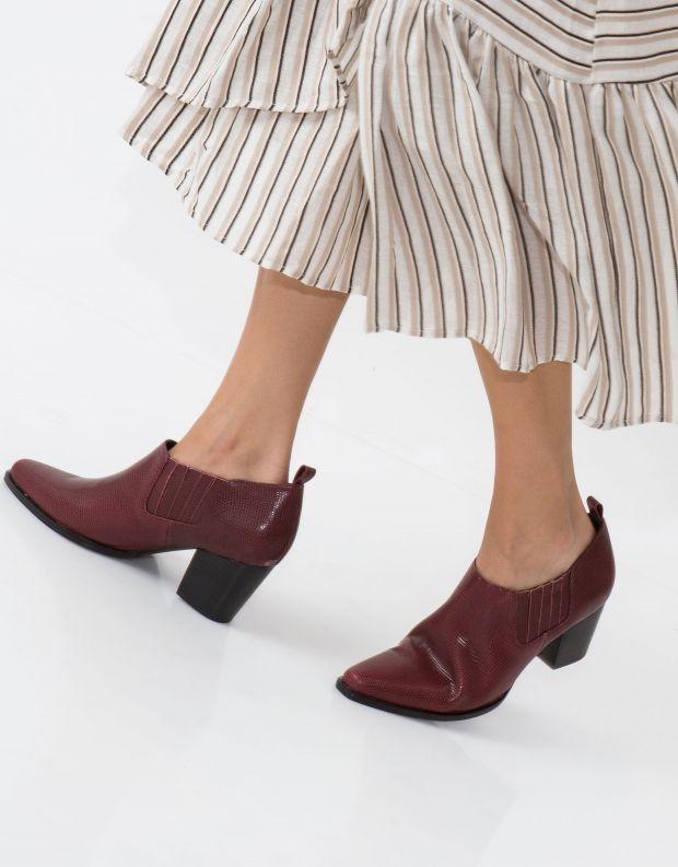 נעלי נשים - SOL SANA - נעל CLIO - בורדו