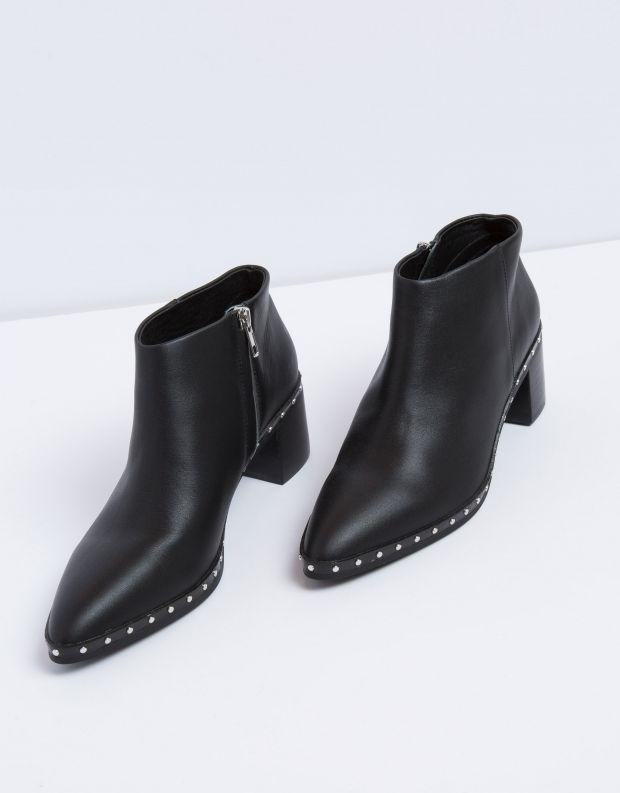 נעלי נשים - SOL SANA - מגפון AJAX - שחור